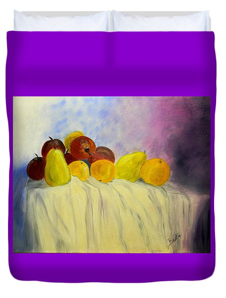 Fruit Duvet Cover