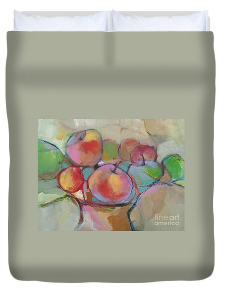Fruit Bowl #5 Duvet Cover