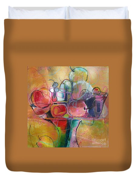 Fruit Bowl No.1 Duvet Cover