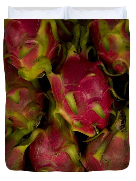 Duvet Cover featuring the photograph Fruit by J L Woody Wooden