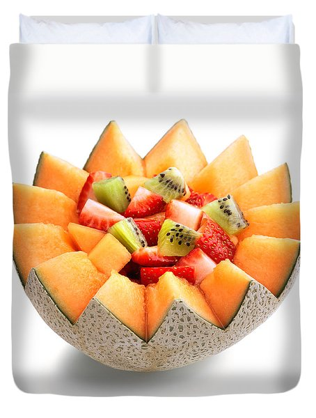 Fruit Salad Duvet Cover by Johan Swanepoel