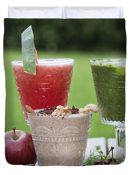 Fruit Smoothies Duvet Cover