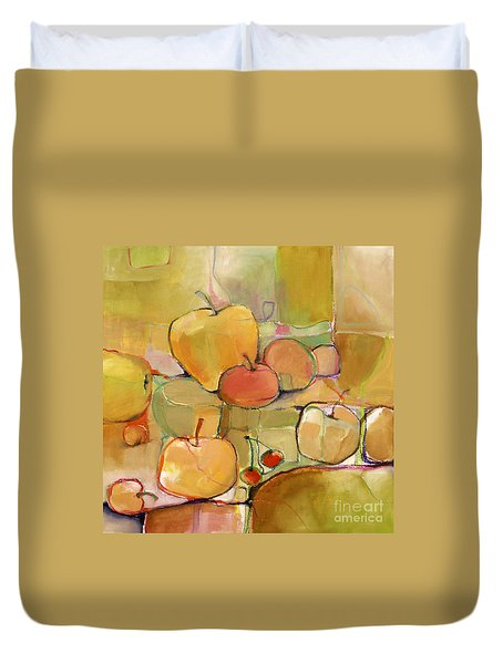 Fruit Still Life Duvet Cover