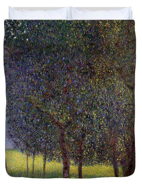 Fruit Trees Duvet Cover