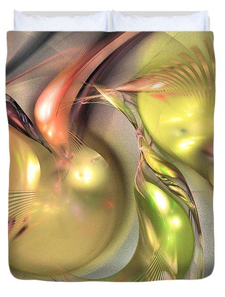 Fruitful - Abstract Art Duvet Cover
