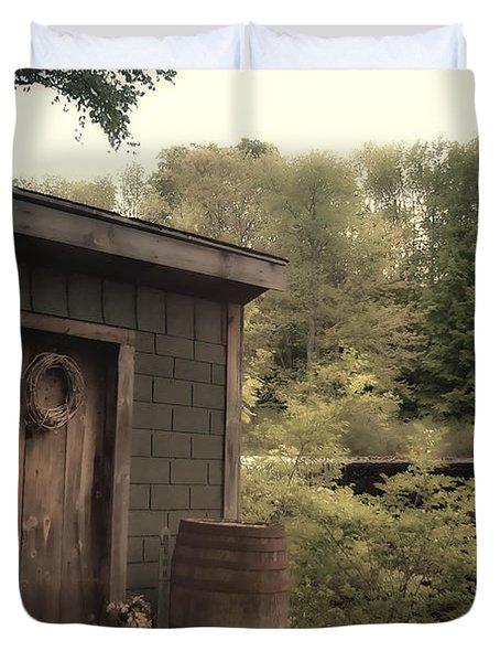 Frye's Measure Mill Duvet Cover by Joann Vitali