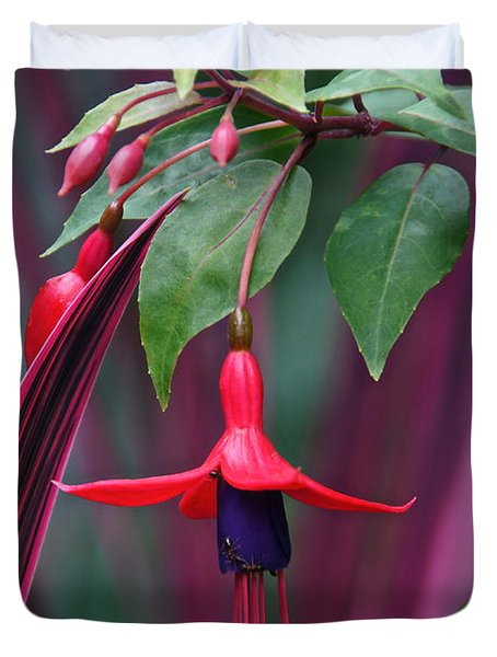 Fuchsia Delight Duvet Cover