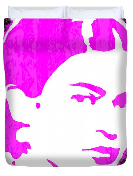 Fuchsia Frida Duvet Cover