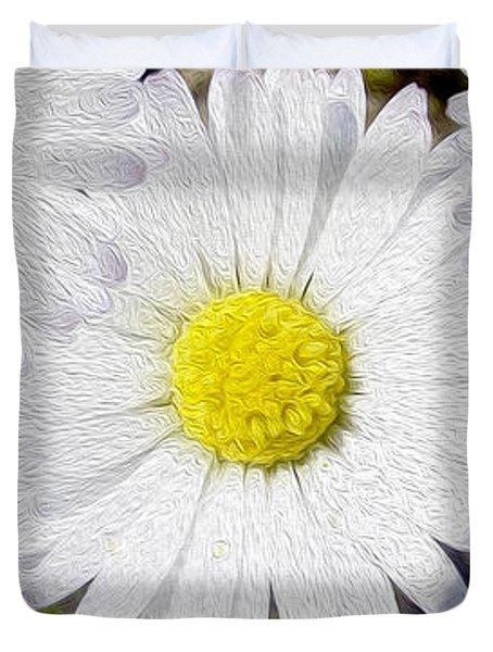 Full Bloom Duvet Cover by Jon Neidert
