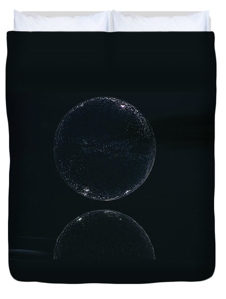New Moon Duvet Cover by Cathie Douglas