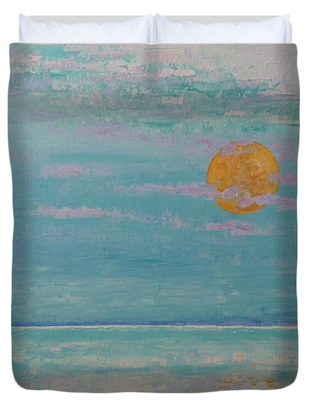 Full Moon In May Duvet Cover