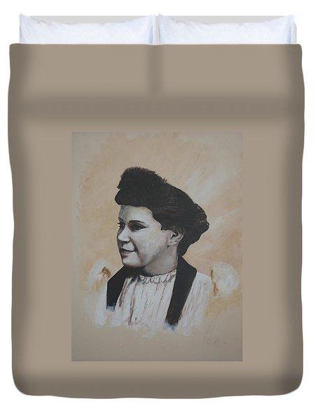 Margaret Duvet Cover