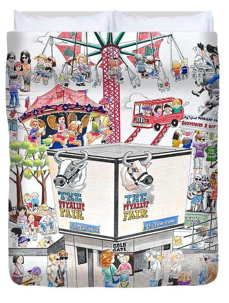Fun Fair Duvet Cover