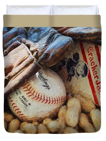 Fundamentals Duvet Cover by John Freidenberg