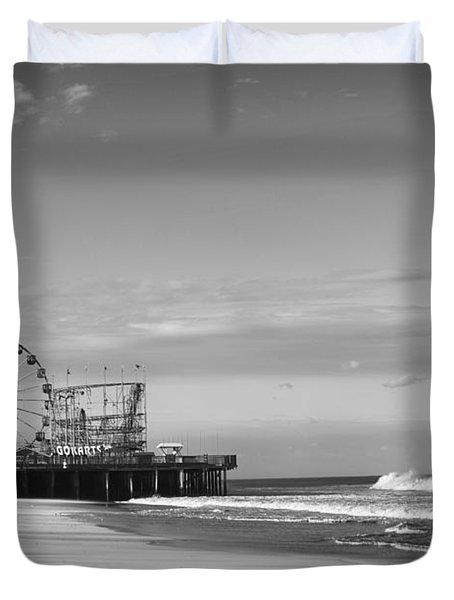 Funtown Pier Seaside Heights New Jersey  Duvet Cover