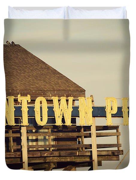 Funtown Vintage Duvet Cover