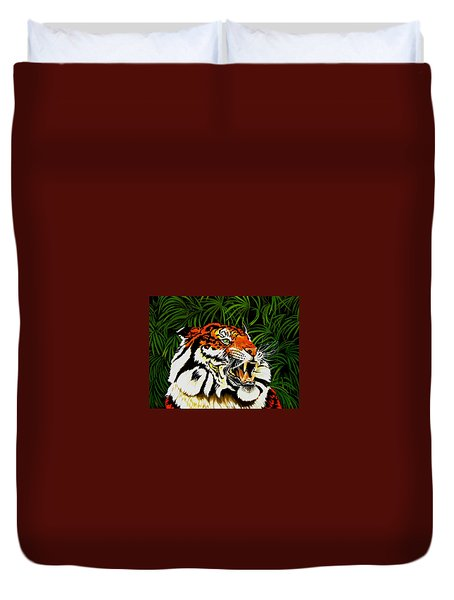 Fur-osity Duvet Cover