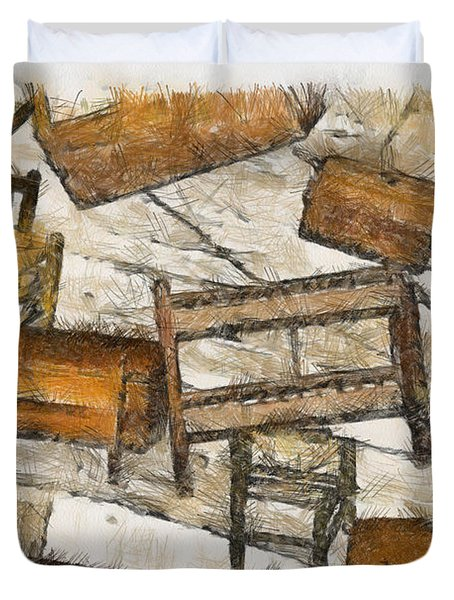 Furniture Duvet Cover by Trish Tritz