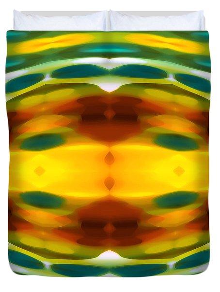 Fury Pattern 5 Duvet Cover by Amy Vangsgard