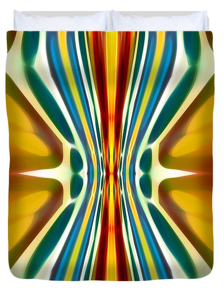 Fury Pattern 6 Duvet Cover by Amy Vangsgard