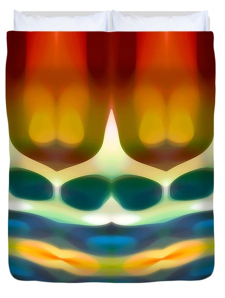 Fury Pattern 7 Duvet Cover by Amy Vangsgard