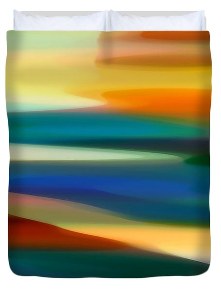 Fury Seascape 7 Duvet Cover by Amy Vangsgard