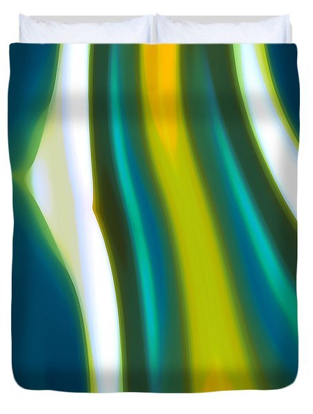 Abstract Tide 9 Duvet Cover