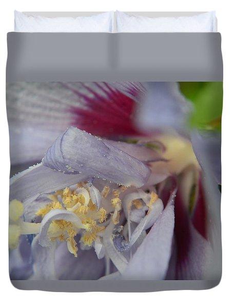 Duvet Cover featuring the photograph Fuscia by Richard Ricci