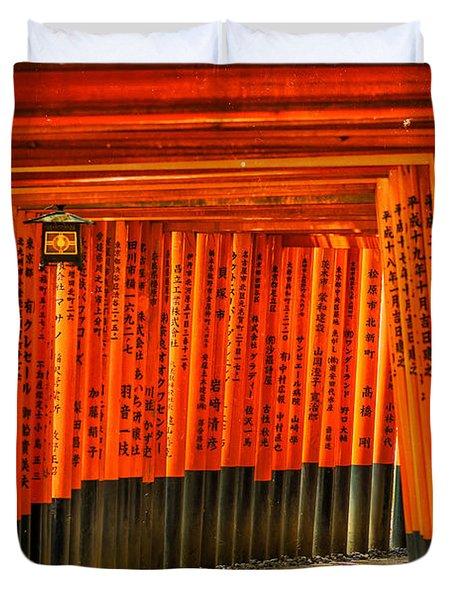 Fushimi Inari Duvet Cover