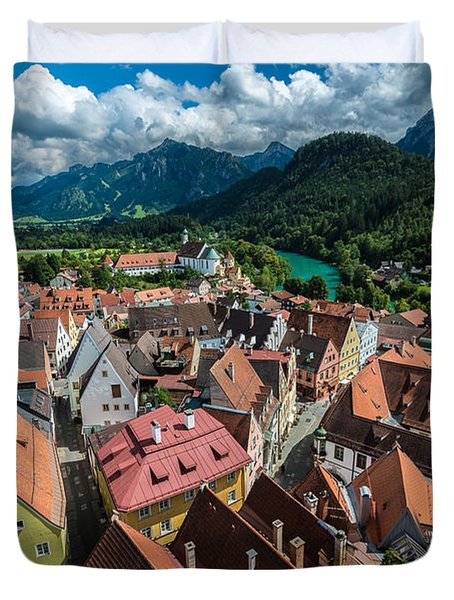 Fussen - Bavaria - Germany Duvet Cover by Gary Whitton
