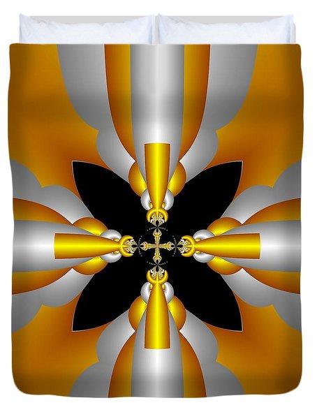Futuristic Duvet Cover by Svetlana Nikolova