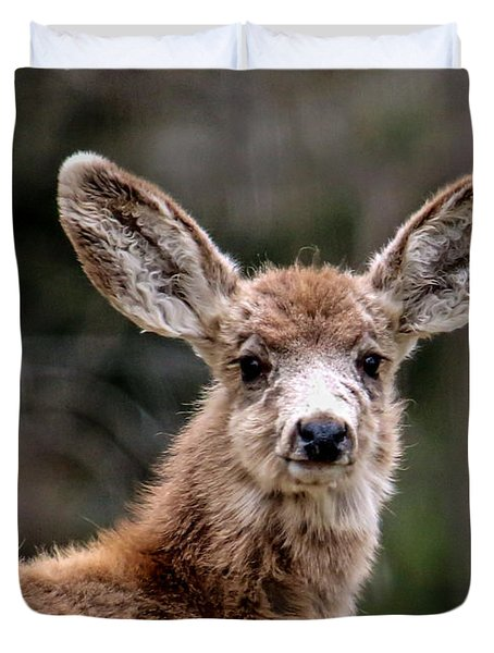 Fuzzy Fawn Duvet Cover