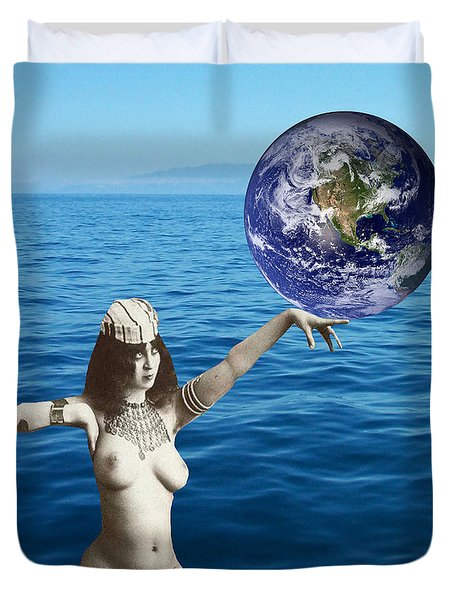 Gaia Duvet Cover by Matthew Lacey
