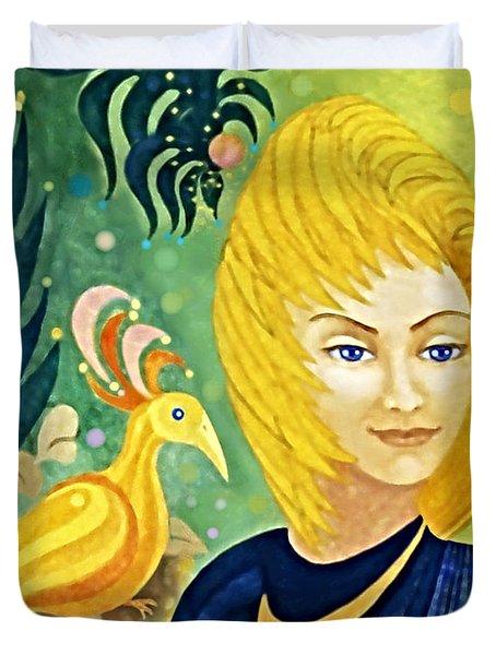 Gaia - Spirit Of Nature Duvet Cover