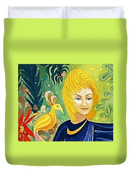 Gaia - Spirit Of Nature Duvet Cover