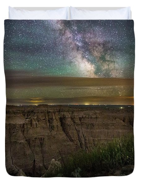Galactic Pinnacles Duvet Cover