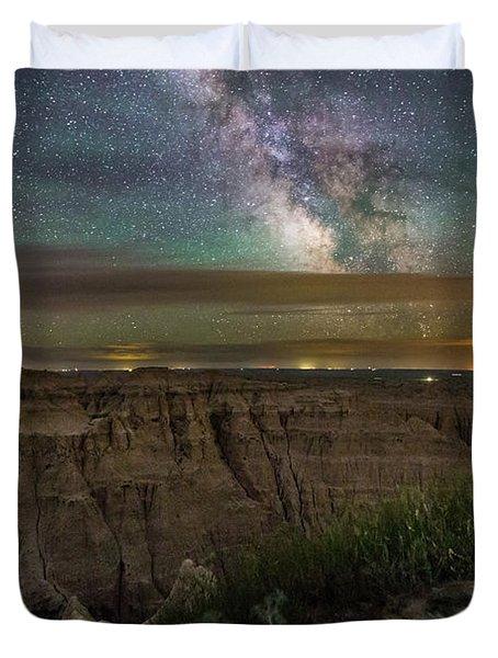 Galactic Pinnacles Duvet Cover