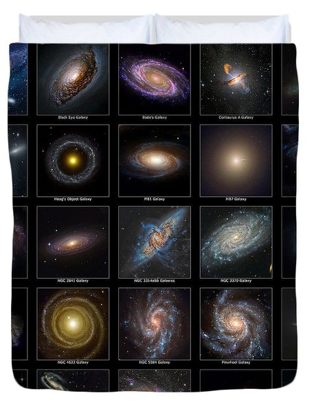 Galaxy Collection Duvet Cover