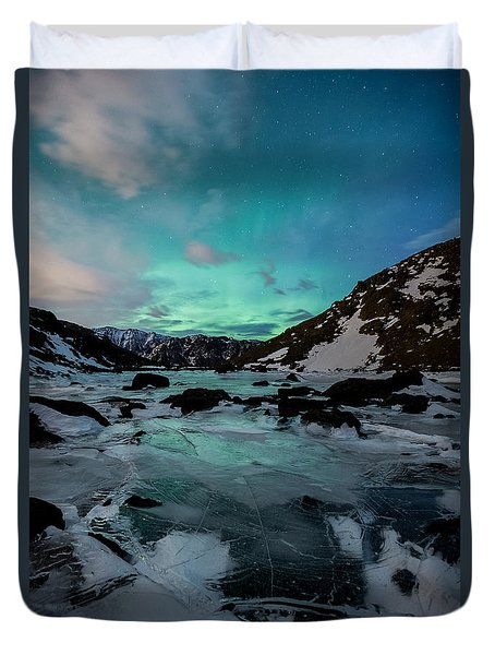 Gale-force Aurora V Duvet Cover