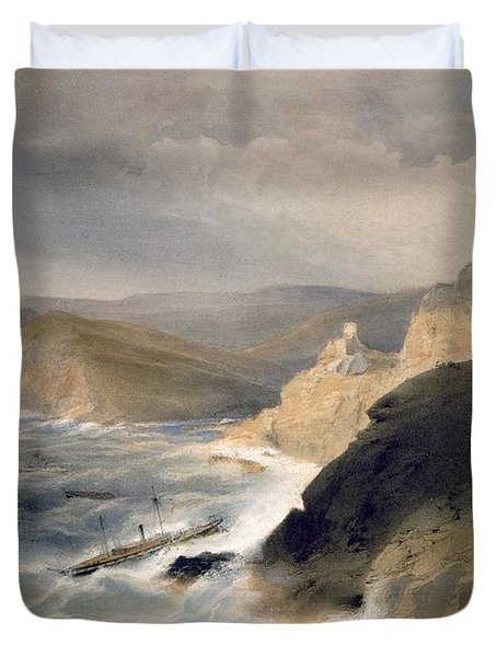 Gale Off The Port Of Balaklava Duvet Cover