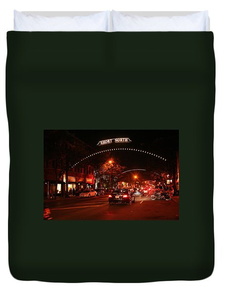 Gallery Hop In The Short North Duvet Cover