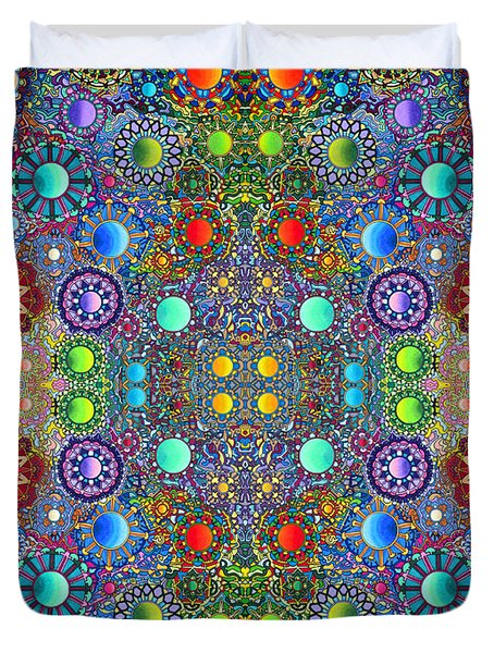 Gallimaufry Duvet Cover by Devin  Cogger