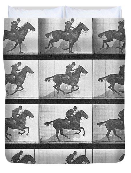 Galloping Horse Duvet Cover