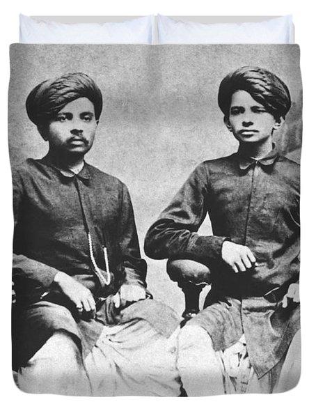 Gandhi Brothers Duvet Cover
