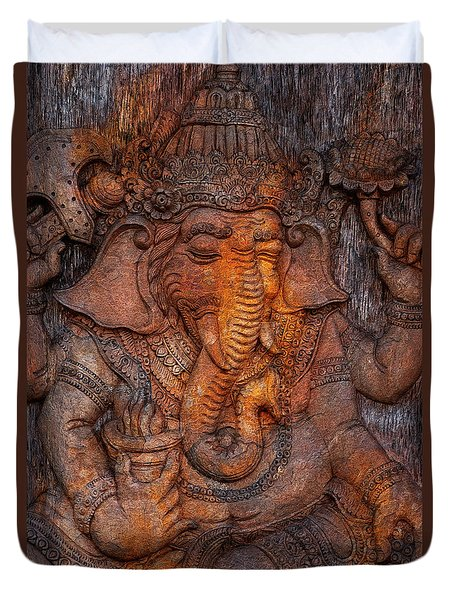 Ganesh 2 Duvet Cover