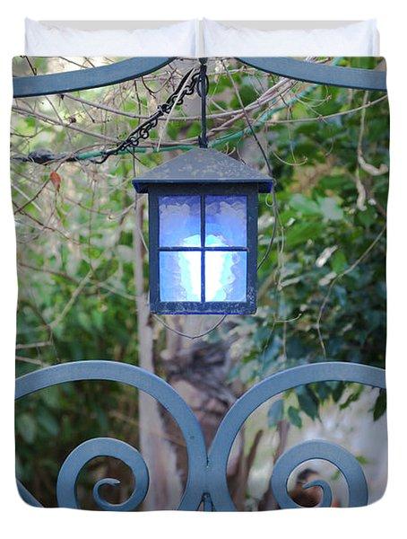 Garden Cafe, King George Street, Tel Duvet Cover