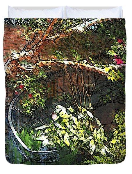 Garden Climb  Duvet Cover