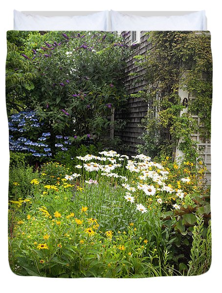 Garden Cottage Duvet Cover by Bill Wakeley
