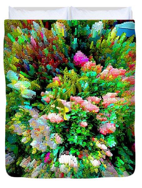 Garden Explosion Duvet Cover by Alys Caviness-Gober