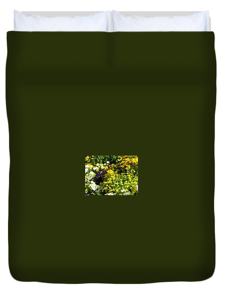 Garden Flowers Duvet Cover